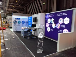 Approved Garages exhibition stand