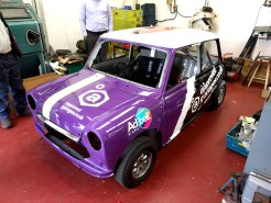 Racing mini graphics and wrap