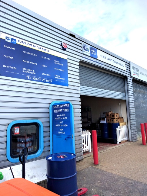 Aluminium composite fascia signs by Ad bell