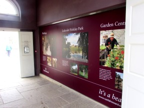Castle Howard wall graphics