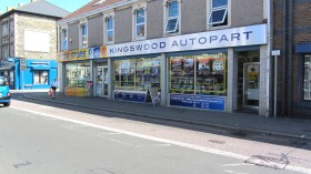 Kingswood Autopart signage by Ad Belm