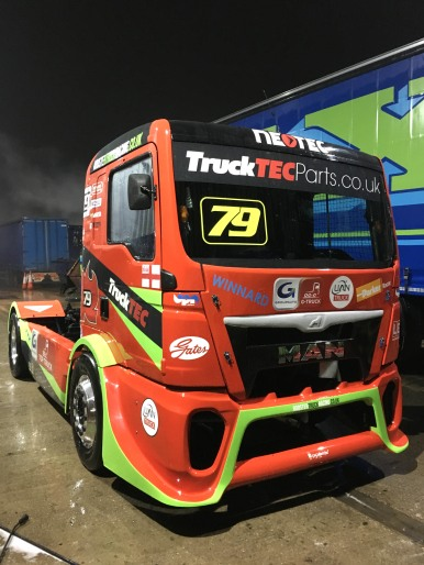 TruckTEC Racing truck graphics 2017