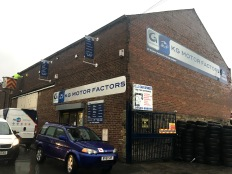 Group Auto - KG Motor Factors site signage