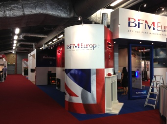 BFM exhibition stand by Ad Bell