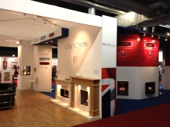 Multi part exhibition system with all design, print and assembly by Ad Bell