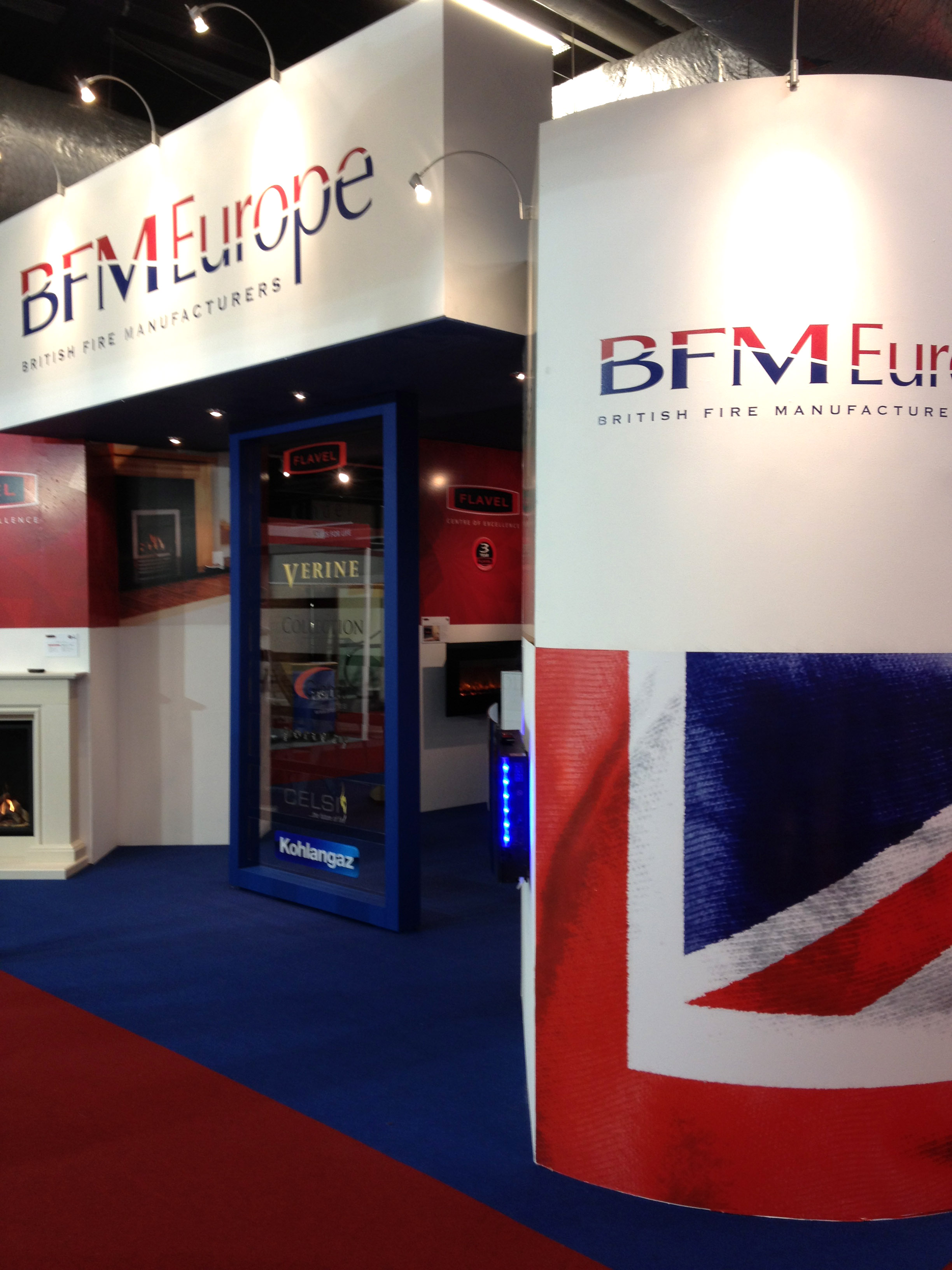 Exhibition Stand Europe : Bfm europe exhibition stand by ad bell u2013 ad bell sign systems