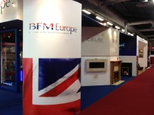 BFM Europe exhibition stand by Ad Bell