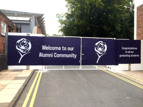 Large printed PVC vinyl banners