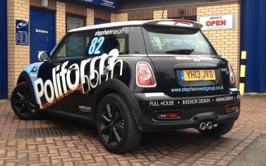 Mini Cooper S graphics by Ad Bell