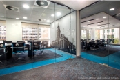 Wall graphics to office interior by Ad Bell Sign Systems