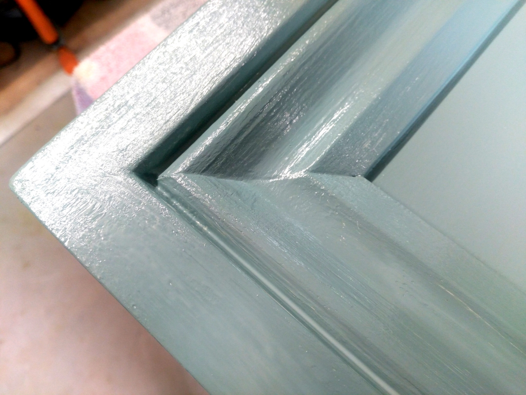 Neat Corners - Filled Sanded & Painted