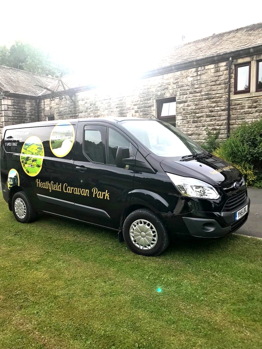 Heathfield Caravan Transit Custom vehicle Graphics (1)
