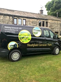 Heathfield Caravan Transit Custom vehicle Graphics (2)