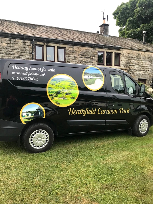 Heathfield Caravan Transit Custom vehicle Graphics (4)